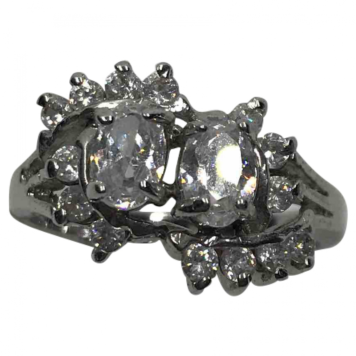 Diamonds & You \N Ring in  Silber Silber