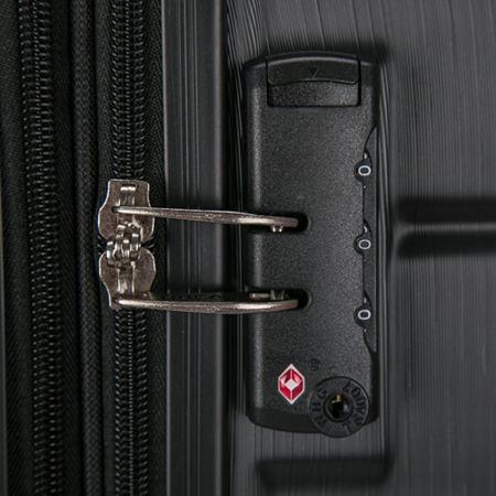 DUKAP Rodez Lightweight Hardside Spinner 20'' Carry-On, One Size , Black
