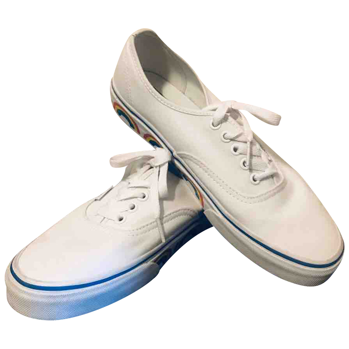 Vans N White Cloth Trainers for Women 40.5 EU
