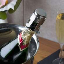 1pc Stainless Steel Wine Bottle Cap