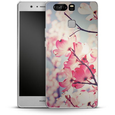 Huawei P9 Silikon Handyhuelle - Dialogue With The Sky von Joy StClaire