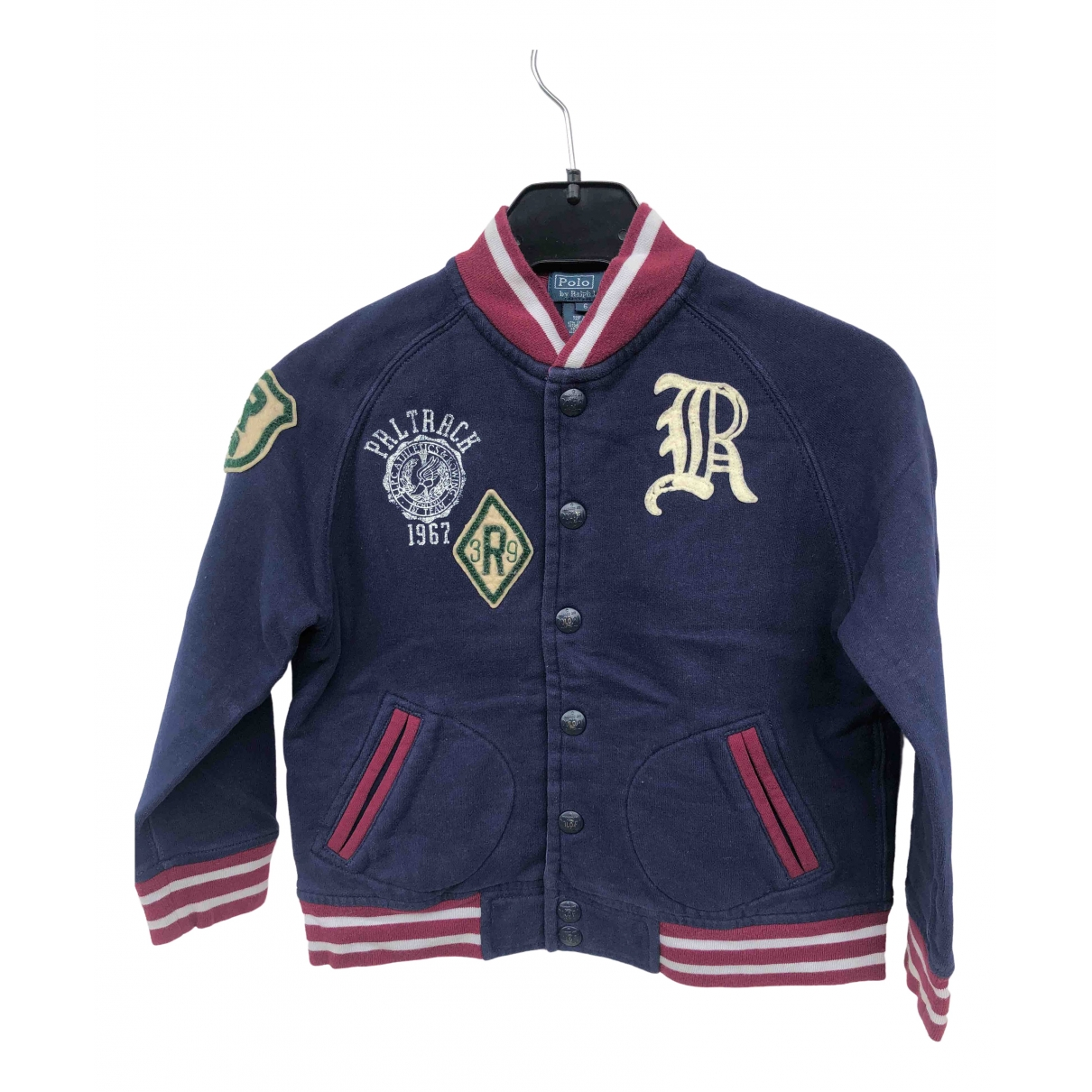 Polo Ralph Lauren \N Navy Cotton jacket & coat for Kids 6 years - up to 114cm FR