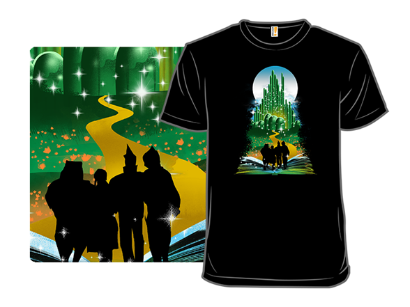 Book Of Wizards And Witches T Shirt