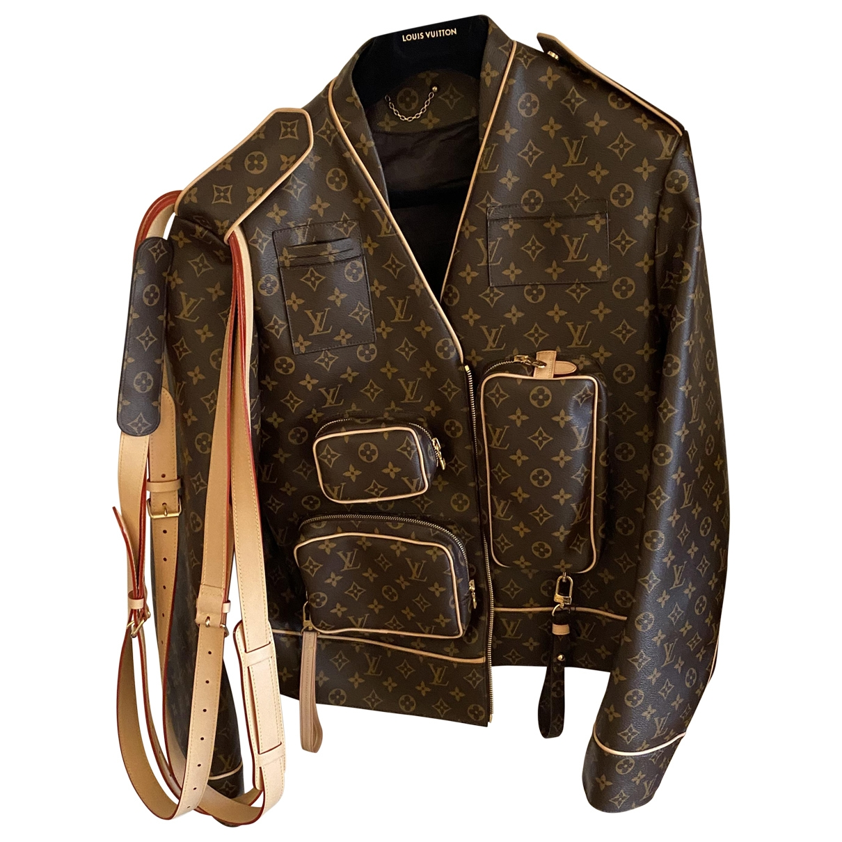 Louis Vuitton \N Brown jacket  for Men 50 FR