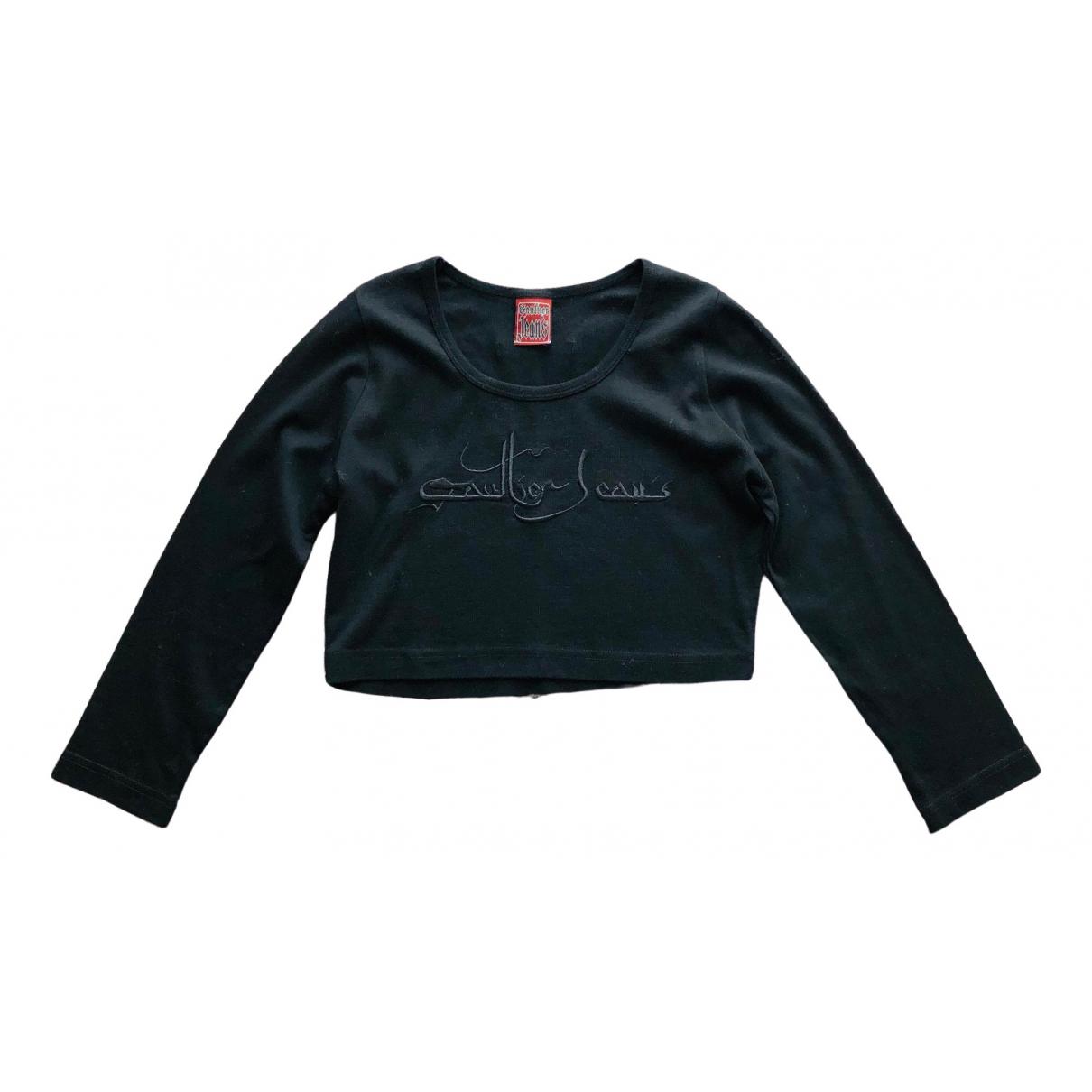 Jean Paul Gaultier \N Black Cotton  top for Women M International