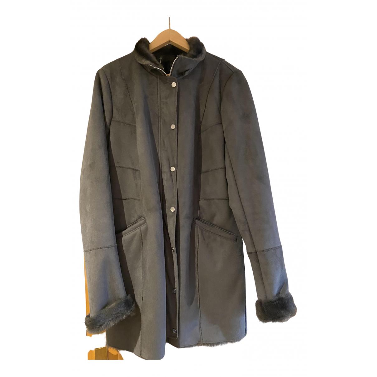 Armani Jeans \N Jacke in  Grau Fell