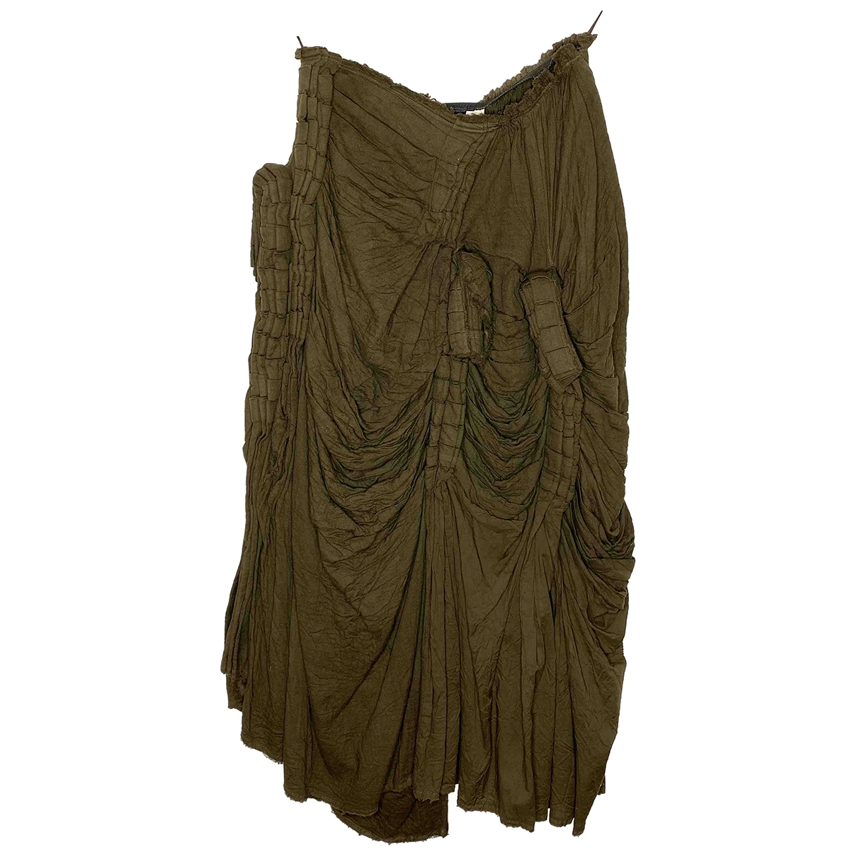 Comme Des Garcons \N Khaki Cotton skirt for Women S International