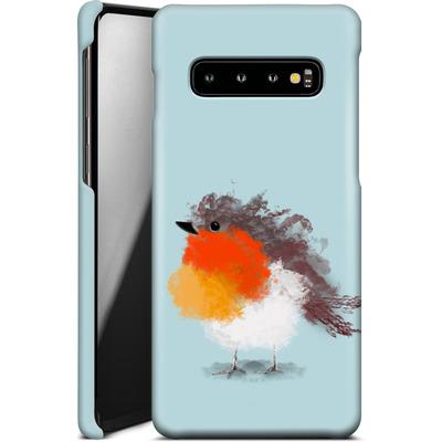 Samsung Galaxy S10 Smartphone Huelle - Cloudy Robin von caseable Designs