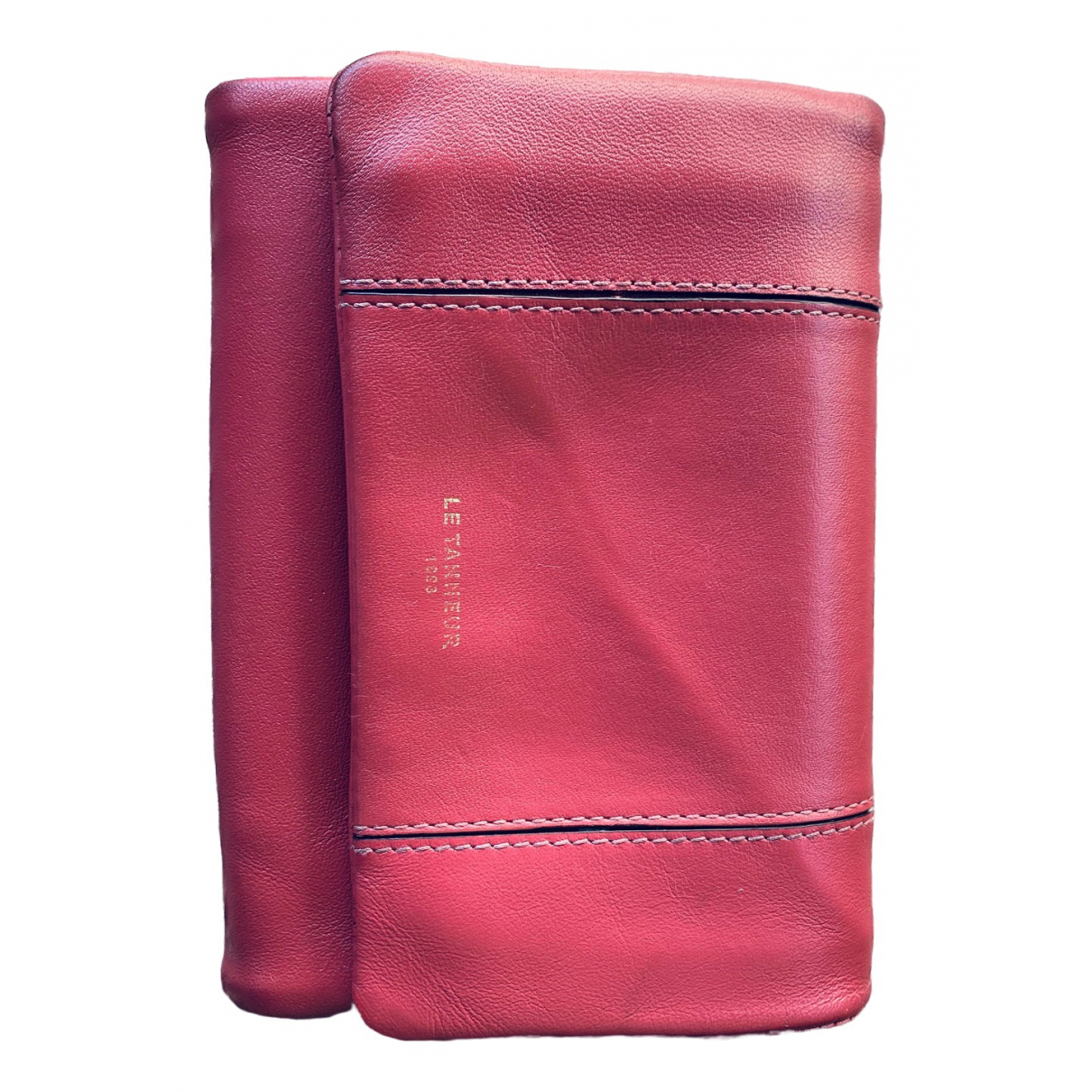Le Tanneur \N Pink Leather wallet for Women \N