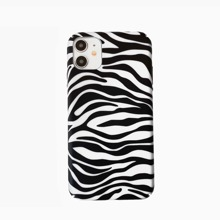 Zebra Stripe Print iPhone Case
