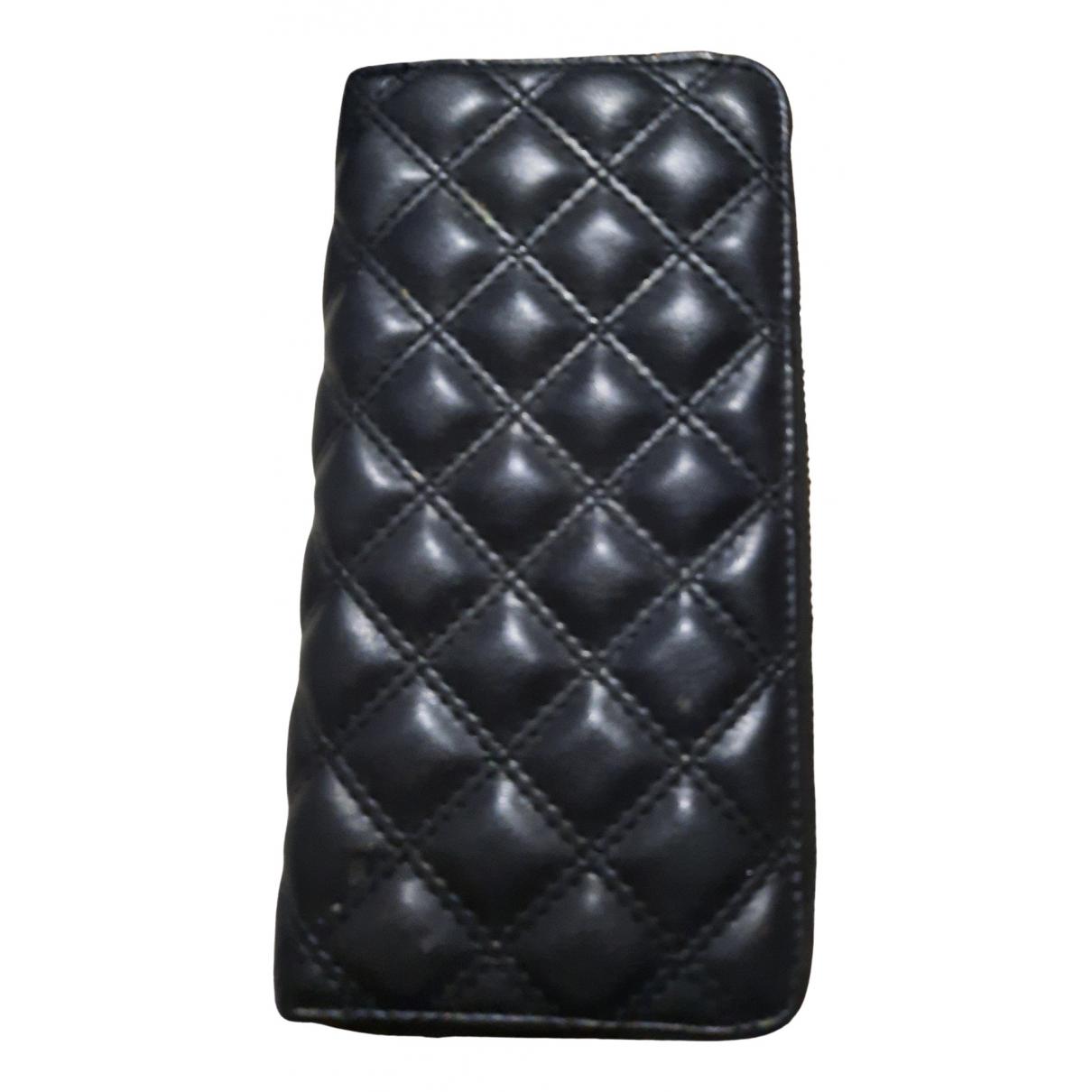 H&m Studio \N Handtasche in  Schwarz Leder