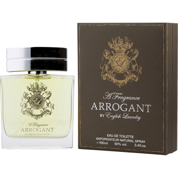 English Laundry - Arrogant : Eau de Toilette Spray 3.4 Oz / 100 ml
