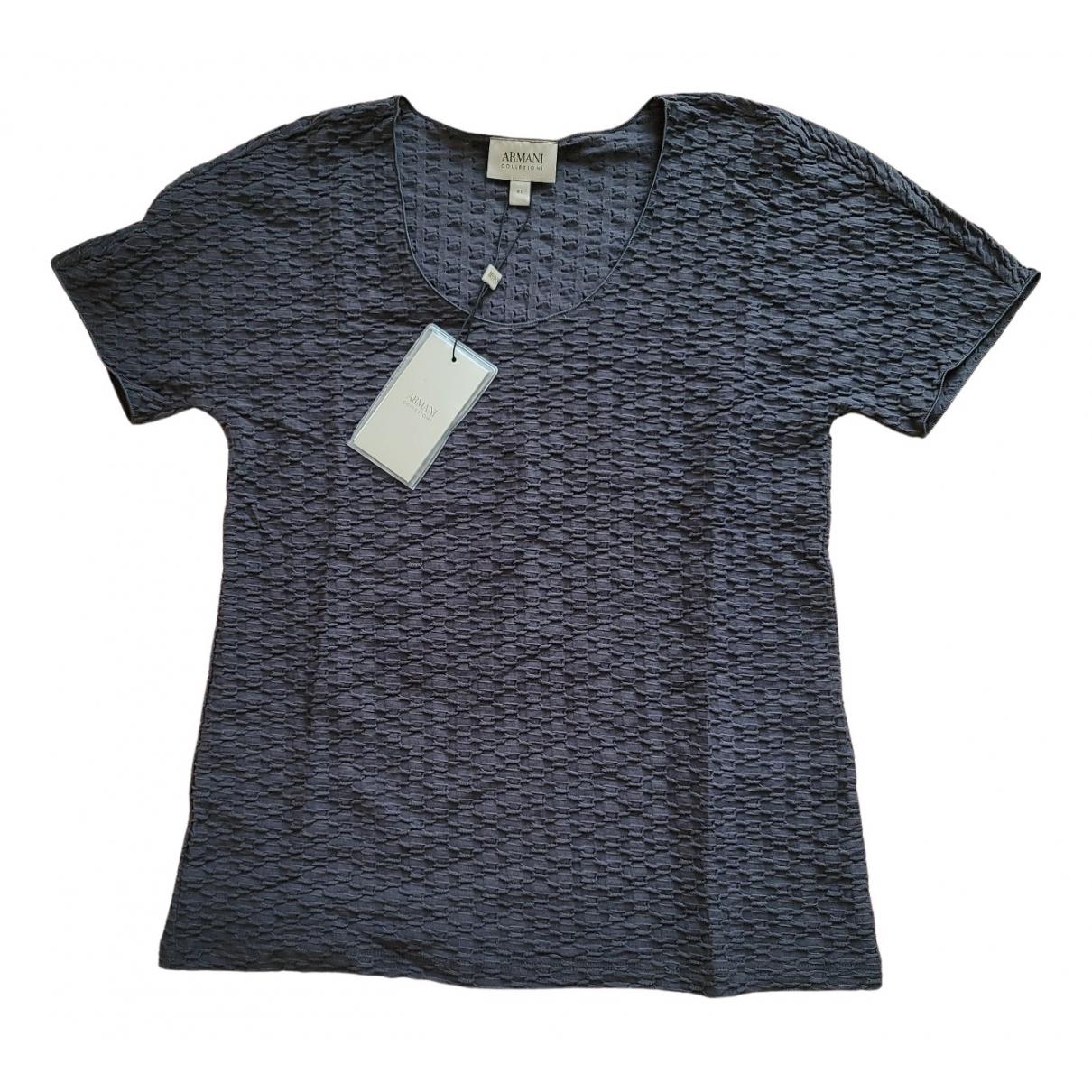 Armani Collezioni N Grey Cotton  top for Women 4 US