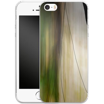 Apple iPhone SE Silikon Handyhuelle - Breathe von Joy StClaire