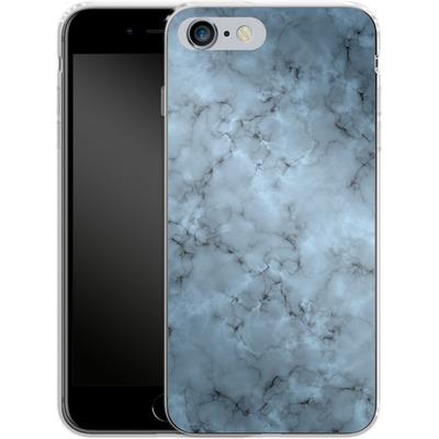 Apple iPhone 6 Plus Silikon Handyhuelle - Blue Marble von caseable Designs