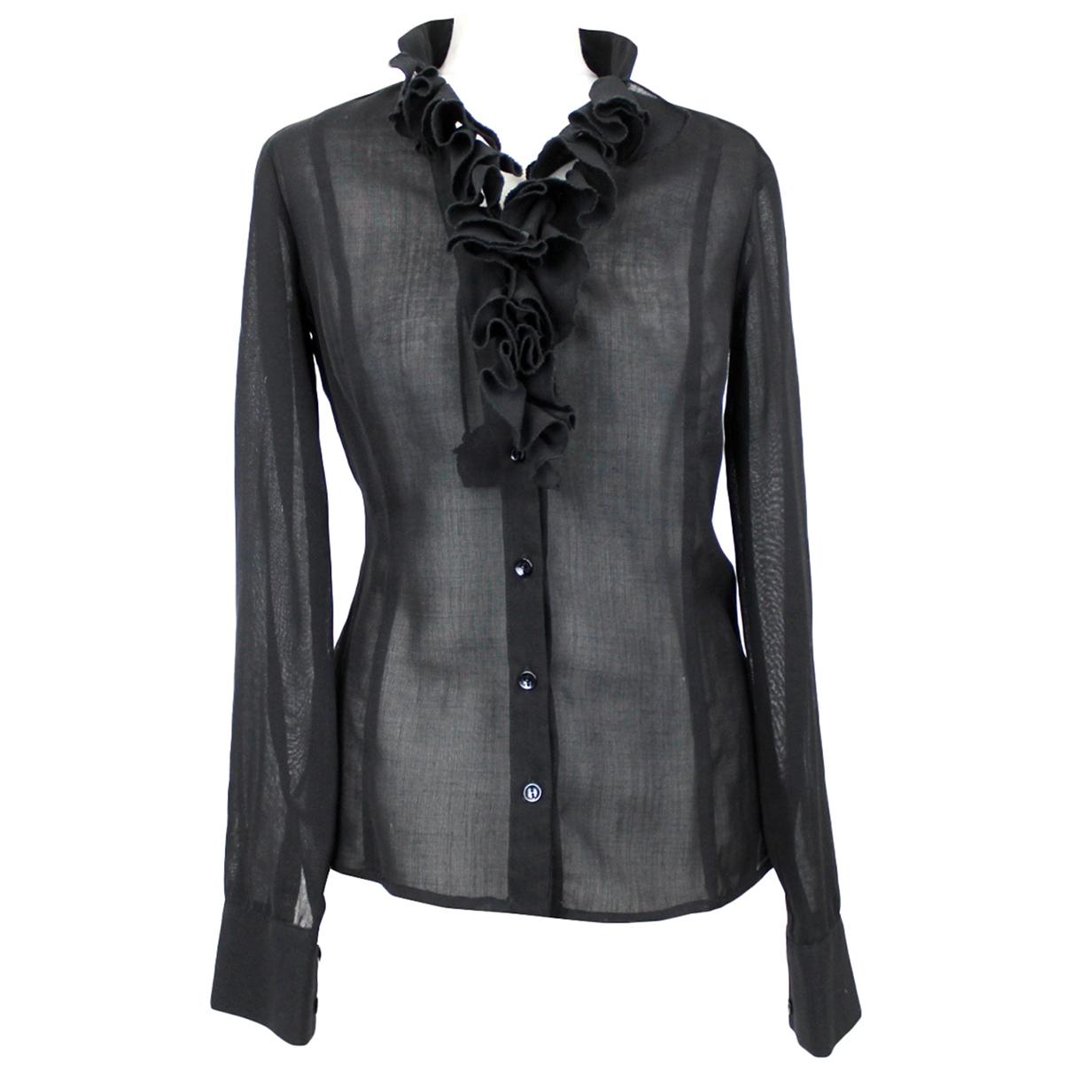 Versace Jeans \N Black Wool  top for Women XS International