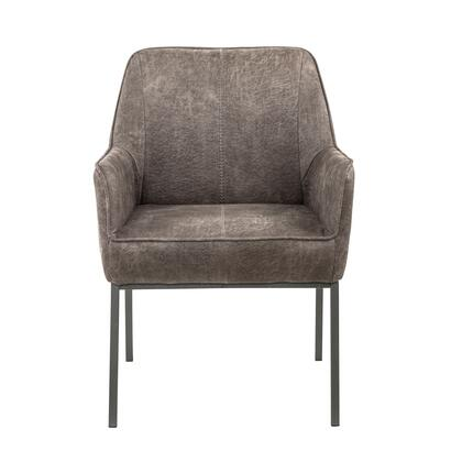 DS-D299-141 Upholstered Metal Leg Accent Chair in Warm
