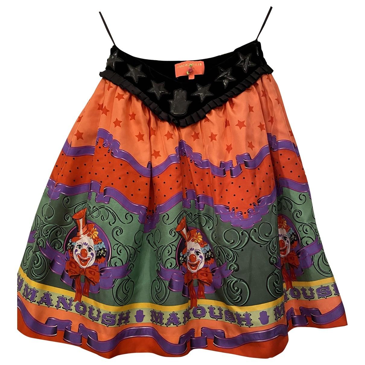 Falda midi de Seda Manoush