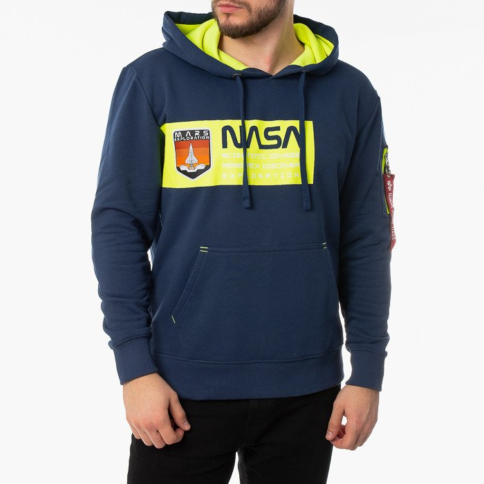 Alpha Industries Mars Neon Hoody 126332 435