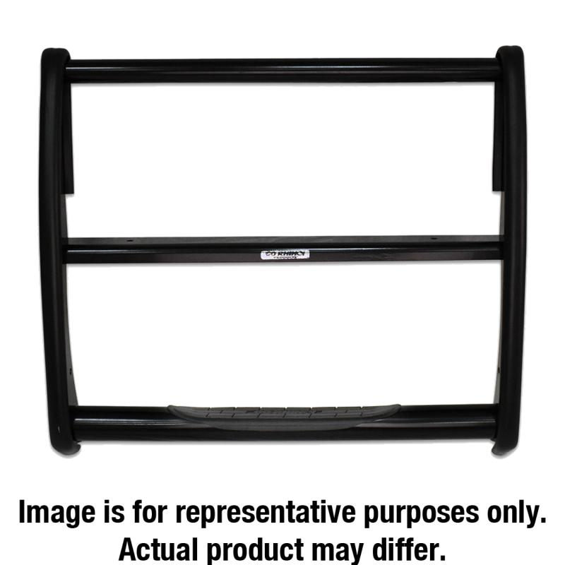 Go Rhino 3163B 3000 Series StepGuard (Center Grille Guard Only) Chevrolet Silverado 1500 Front Center 2007-2013