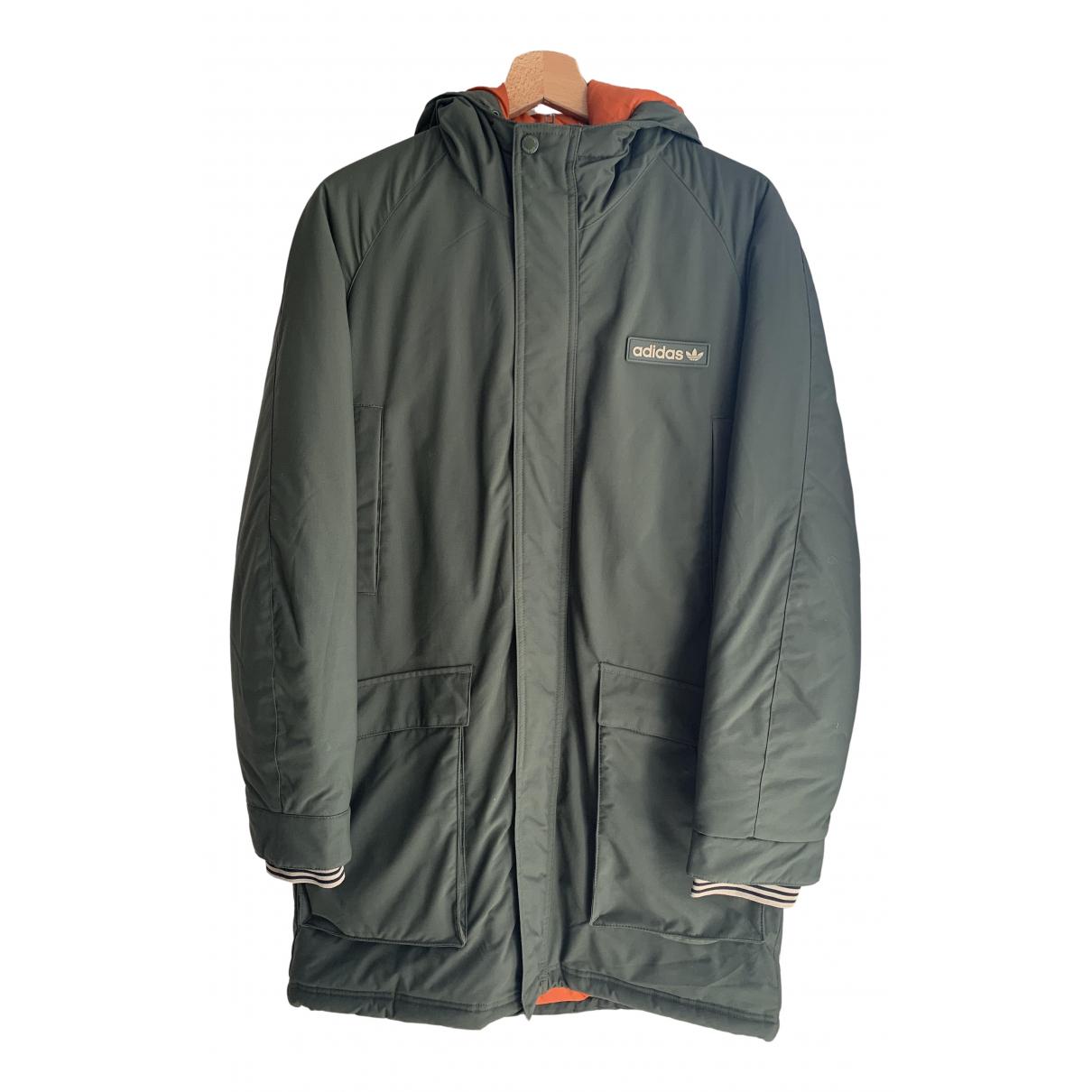 Adidas \N Green coat for Women M International