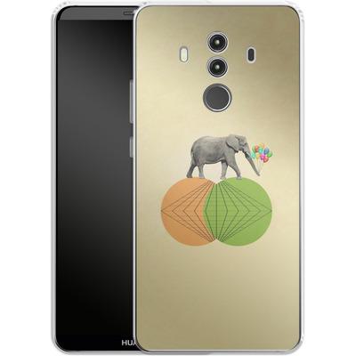 Huawei Mate 10 Pro Silikon Handyhuelle - Balloney Fant von Mark Ashkenazi