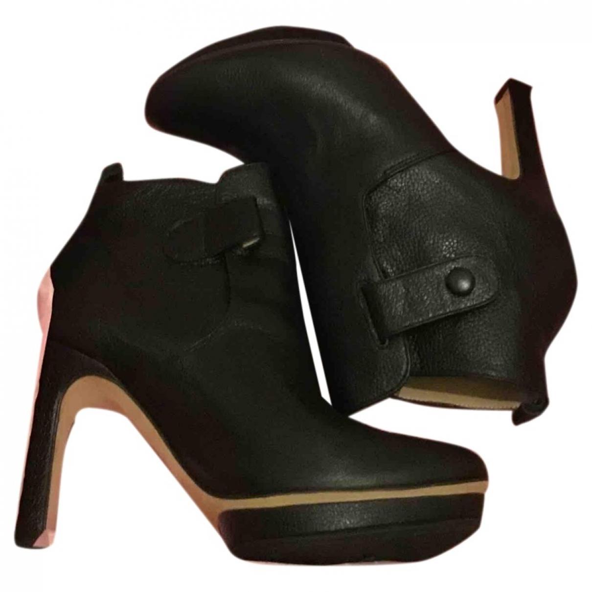 Repetto \N Stiefel in  Schwarz Leder