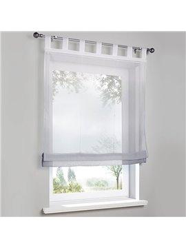 Modern Gradient Translucidus Roman Sheer Shades for Cabinet and Kitchen Window