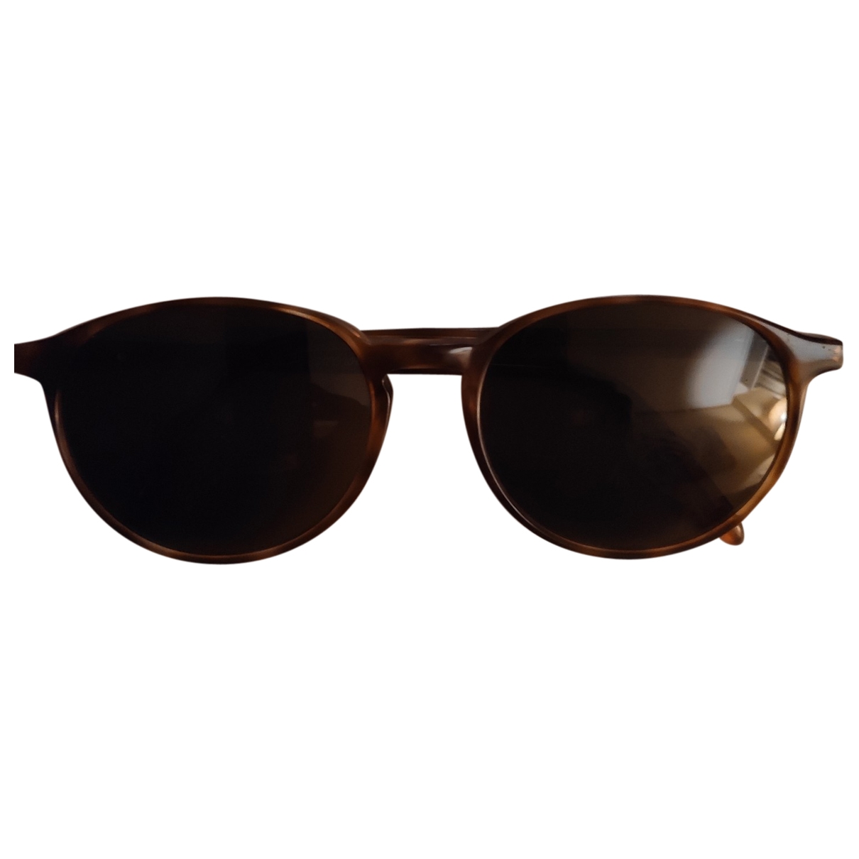 Non Signé / Unsigned \N Brown Sunglasses for Men \N