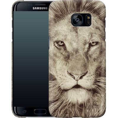 Samsung Galaxy S7 Edge Smartphone Huelle - Leo Lion von Eric Fan