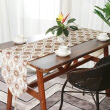 Graphic Print Table Runner