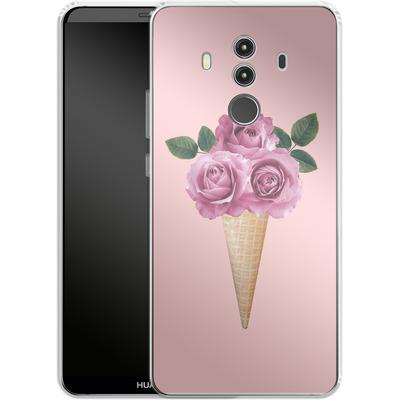 Huawei Mate 10 Pro Silikon Handyhuelle - Ice-cream 3 von Emanuela Carratoni