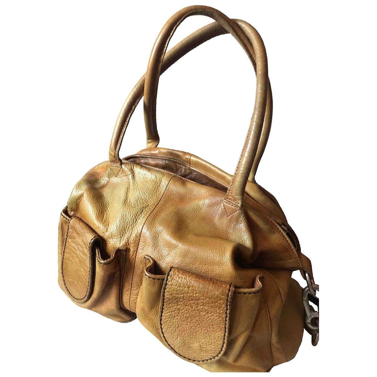 Liebeskind \N Camel Leather handbag for Women \N