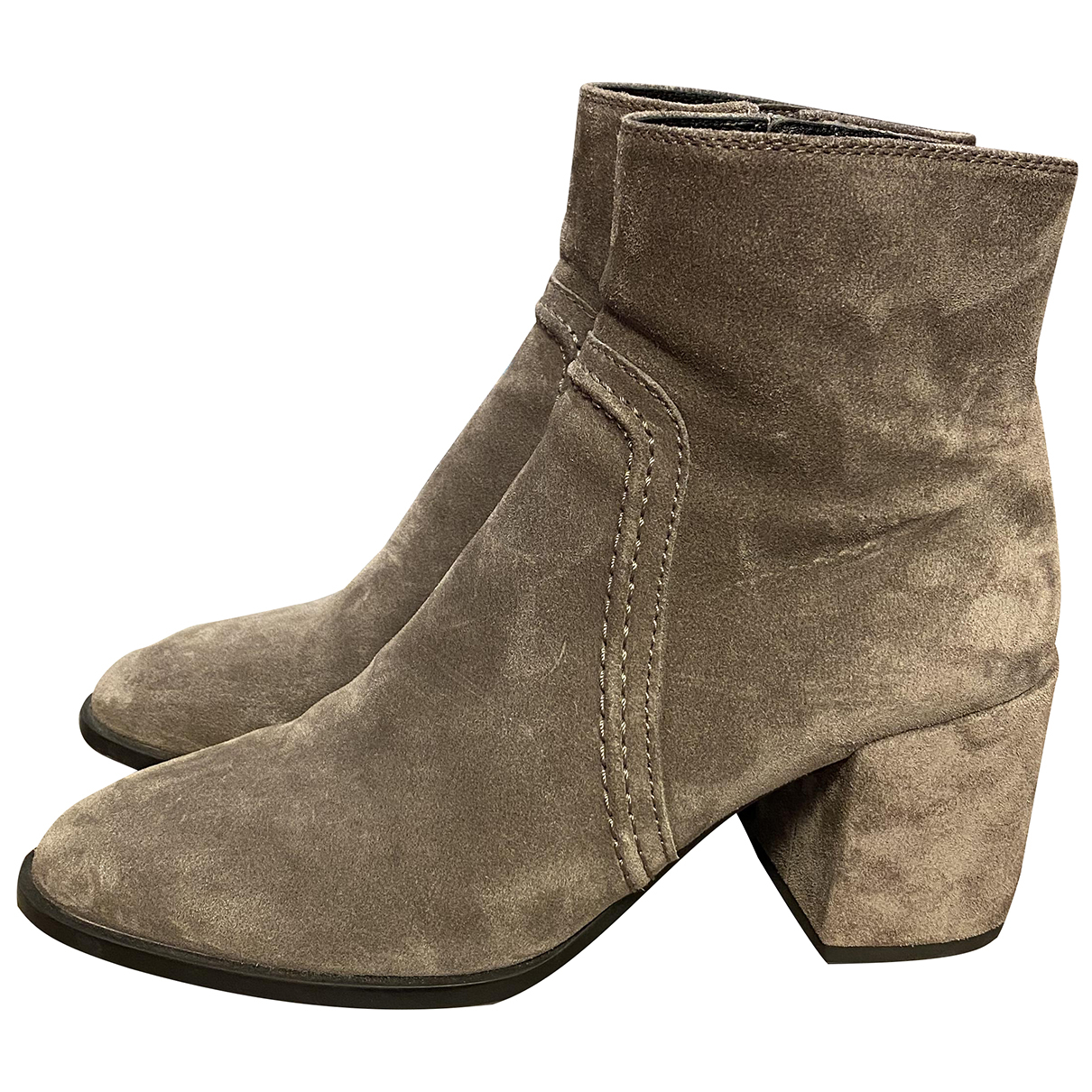 Tod's N Suede Boots for Women 39 EU