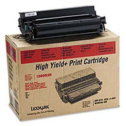 Lexmark 1380520 Original Black Toner Cartridge High Yield