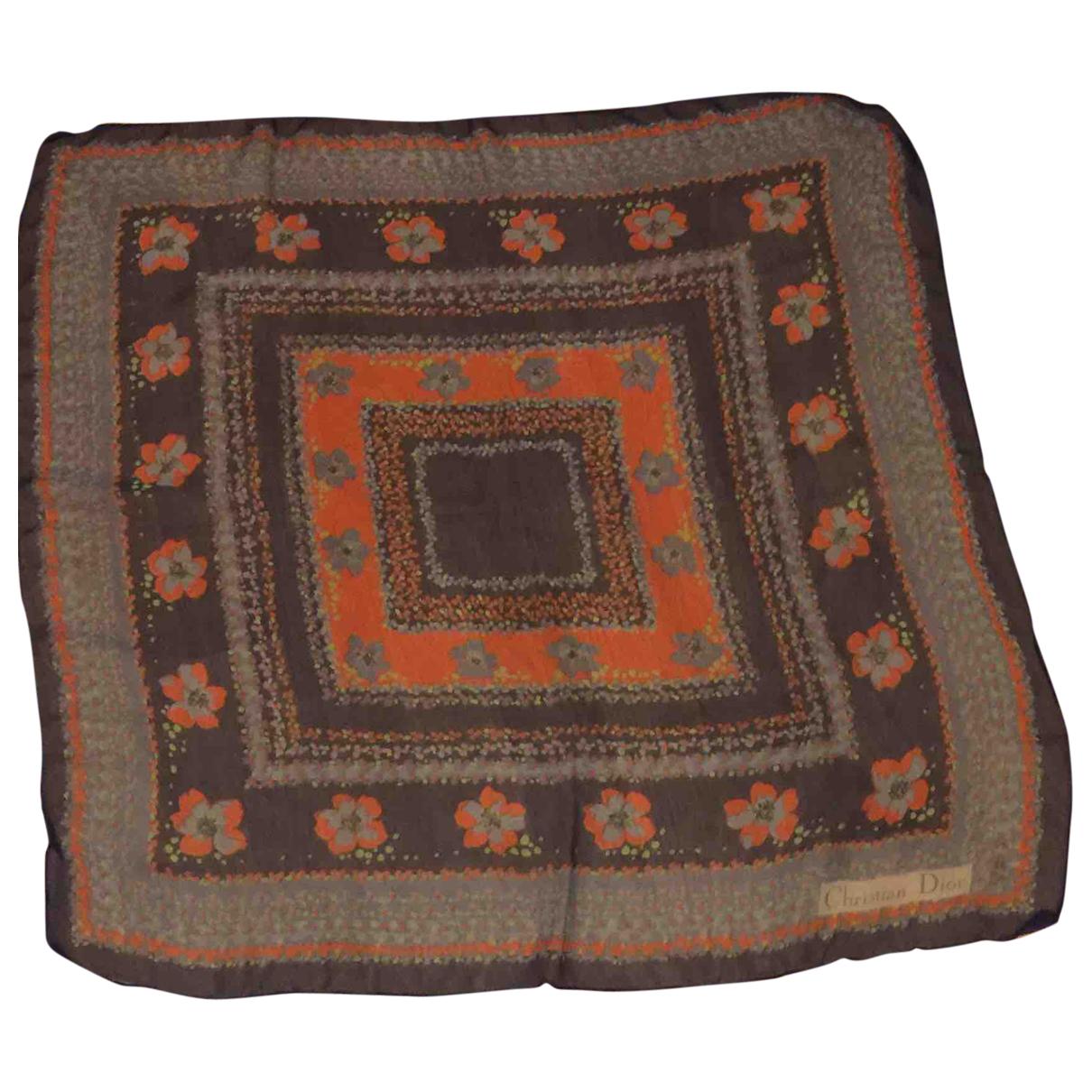 Dior N Multicolour Silk scarf for Women N
