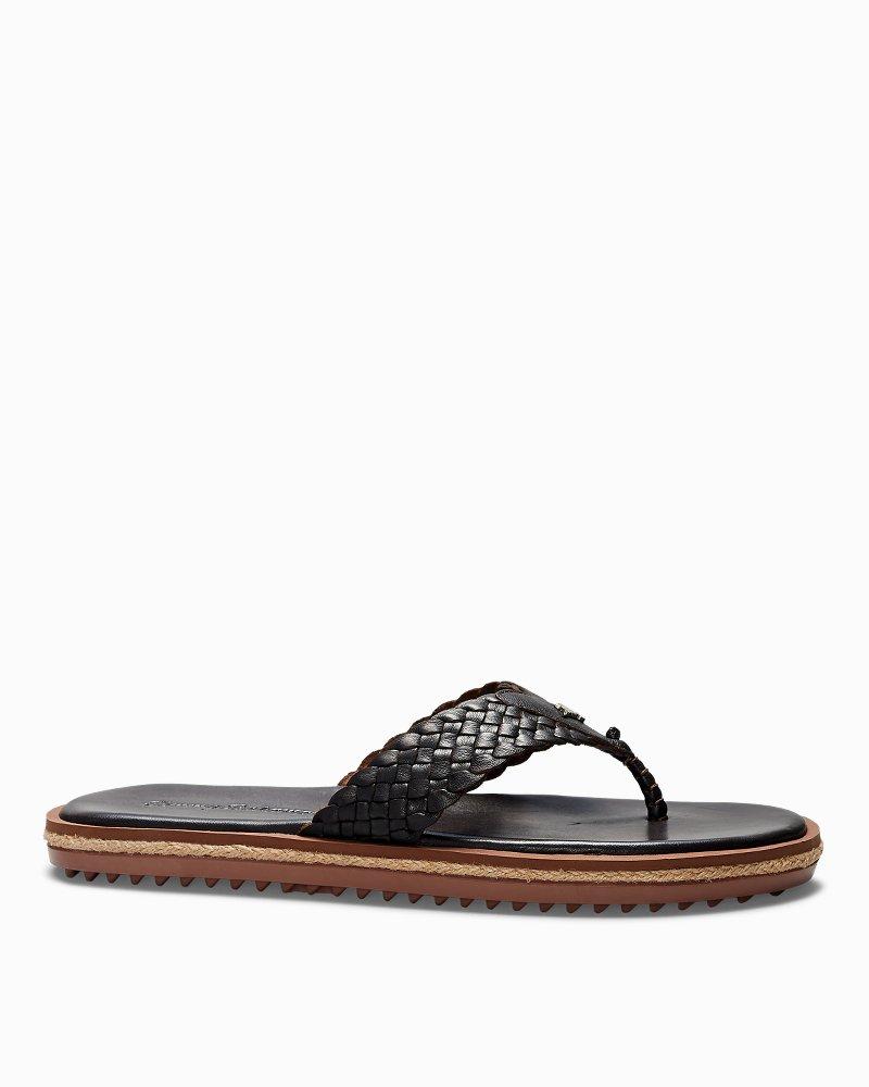 Saltholm Leather Flip Flops