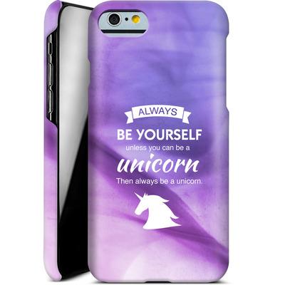 Apple iPhone 6s Smartphone Huelle - Be A Unicorn von Statements