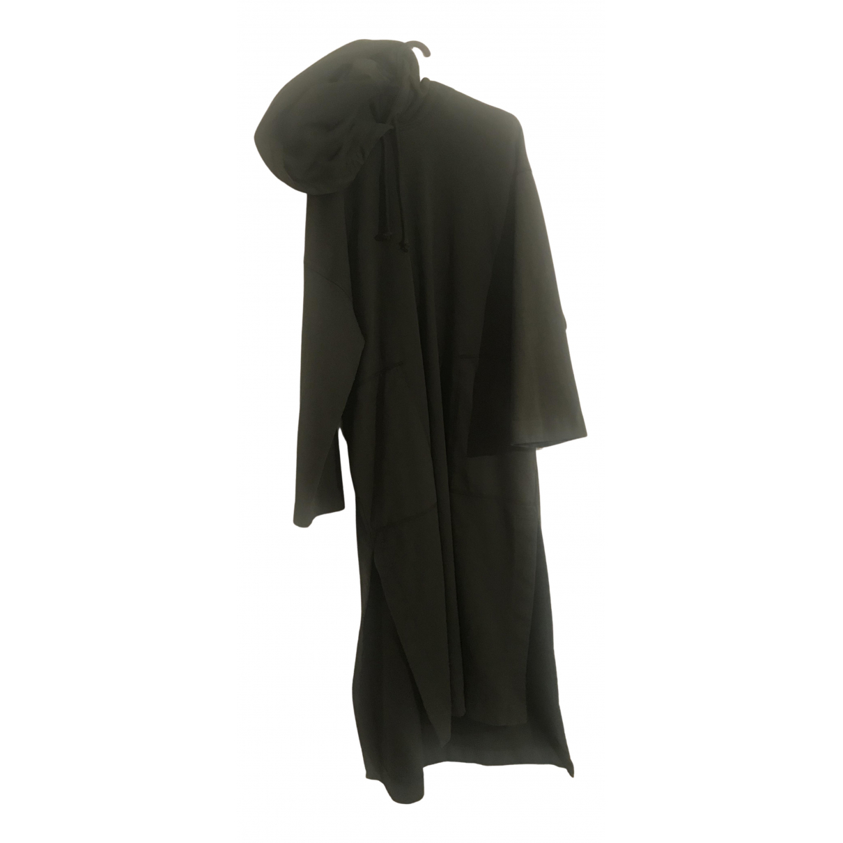 Acne Studios - Robe   pour femme en coton - kaki