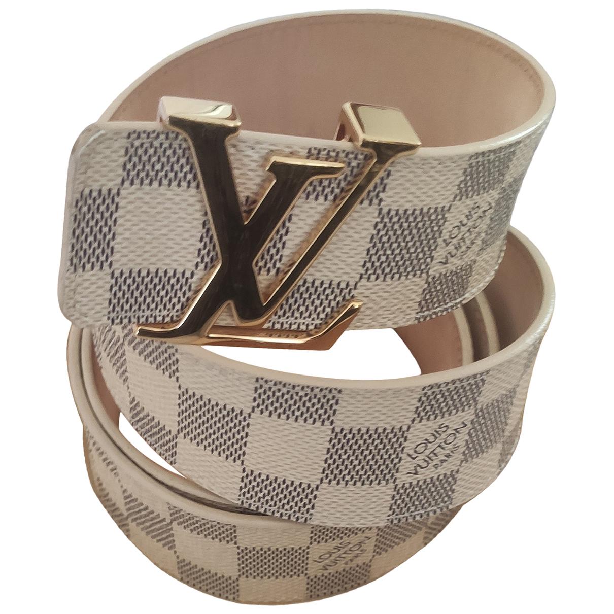 Cinturon Initiales de Cuero Louis Vuitton