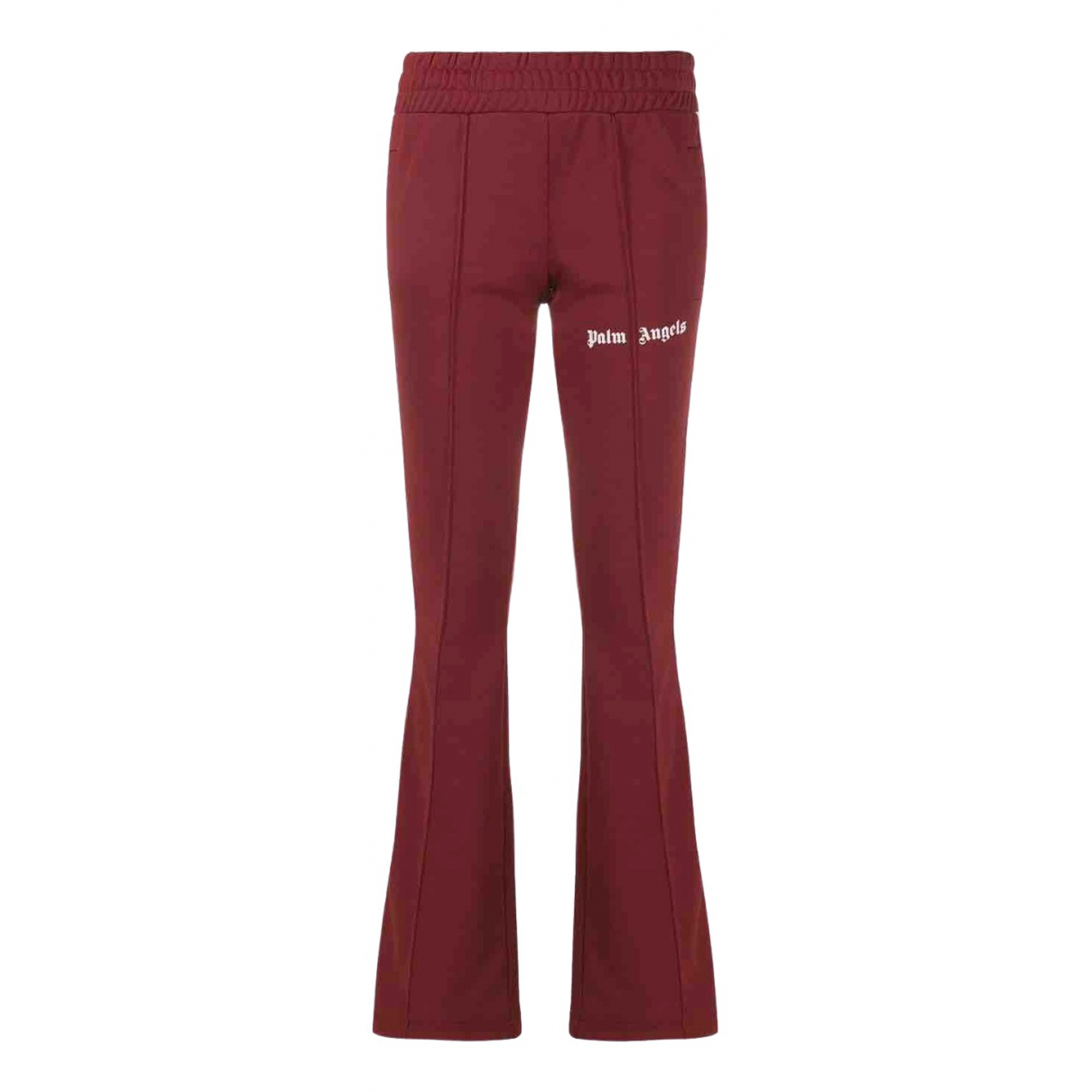 Palm Angels \N Burgundy Trousers for Women XXS International