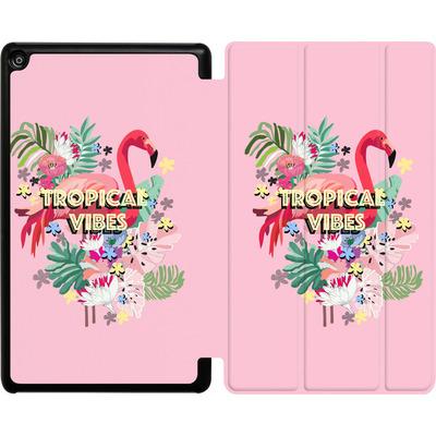 Amazon Fire HD 8 (2018) Tablet Smart Case - Flamingo Solo von Mukta Lata Barua