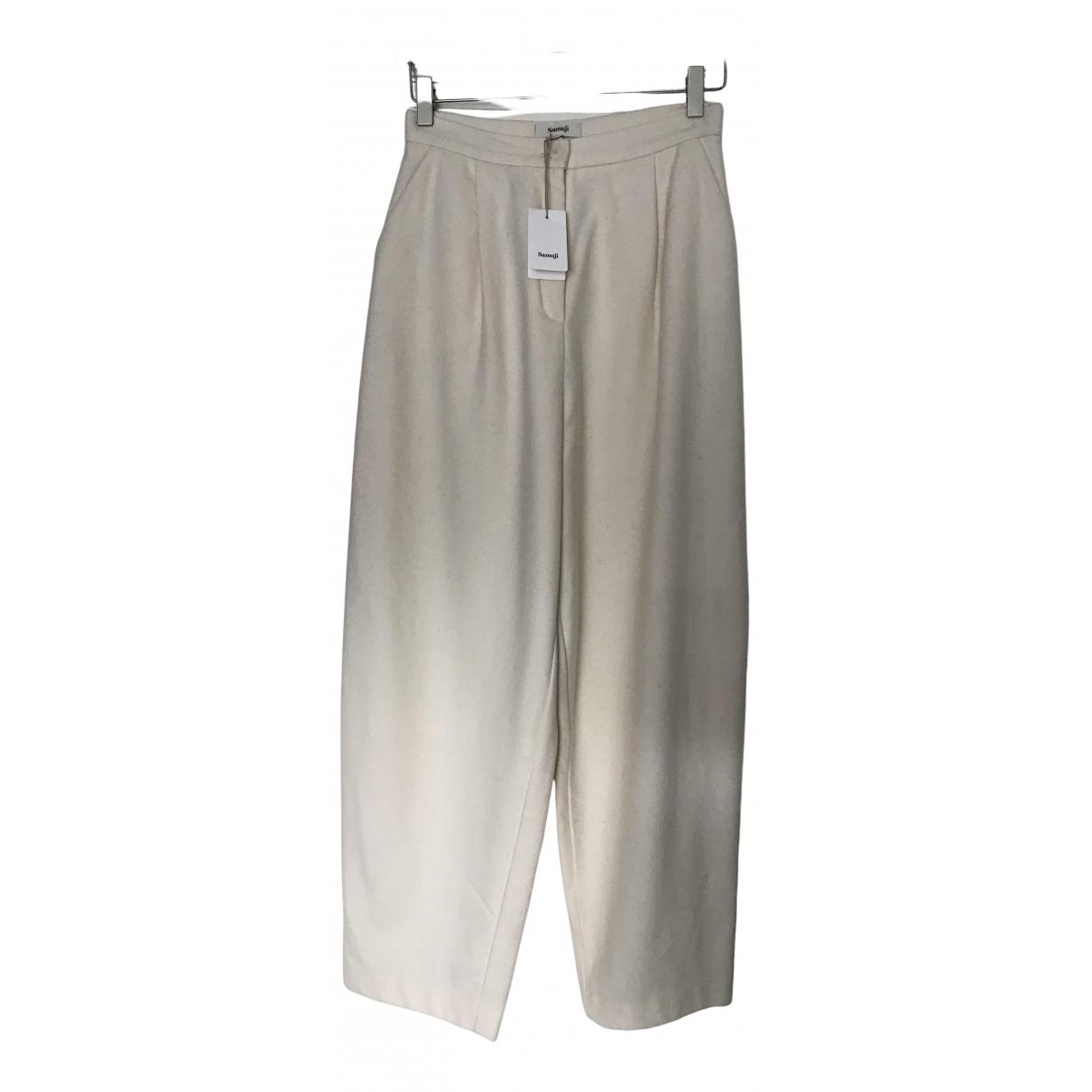Pantalon zanahoria de Lana Samuji