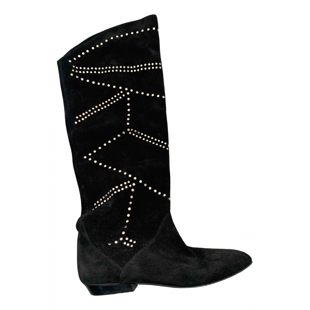 Isabel Marant \N Black Suede Boots for Women 40 EU