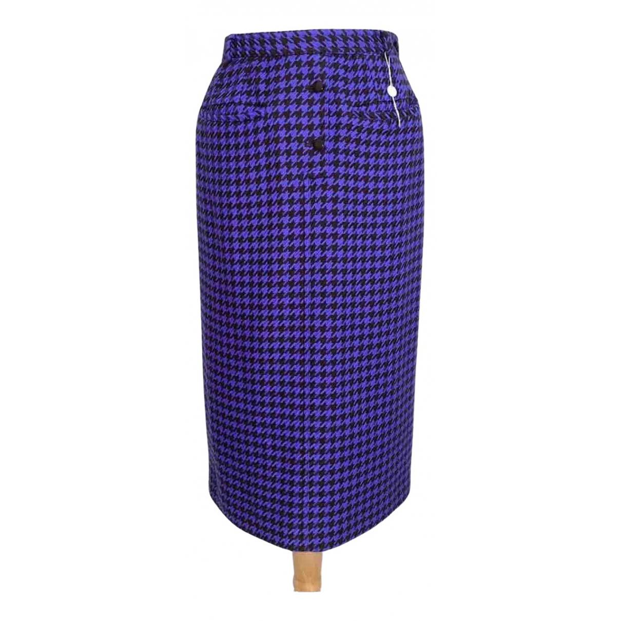 Valentino Garavani - Jupe   pour femme en laine - violet