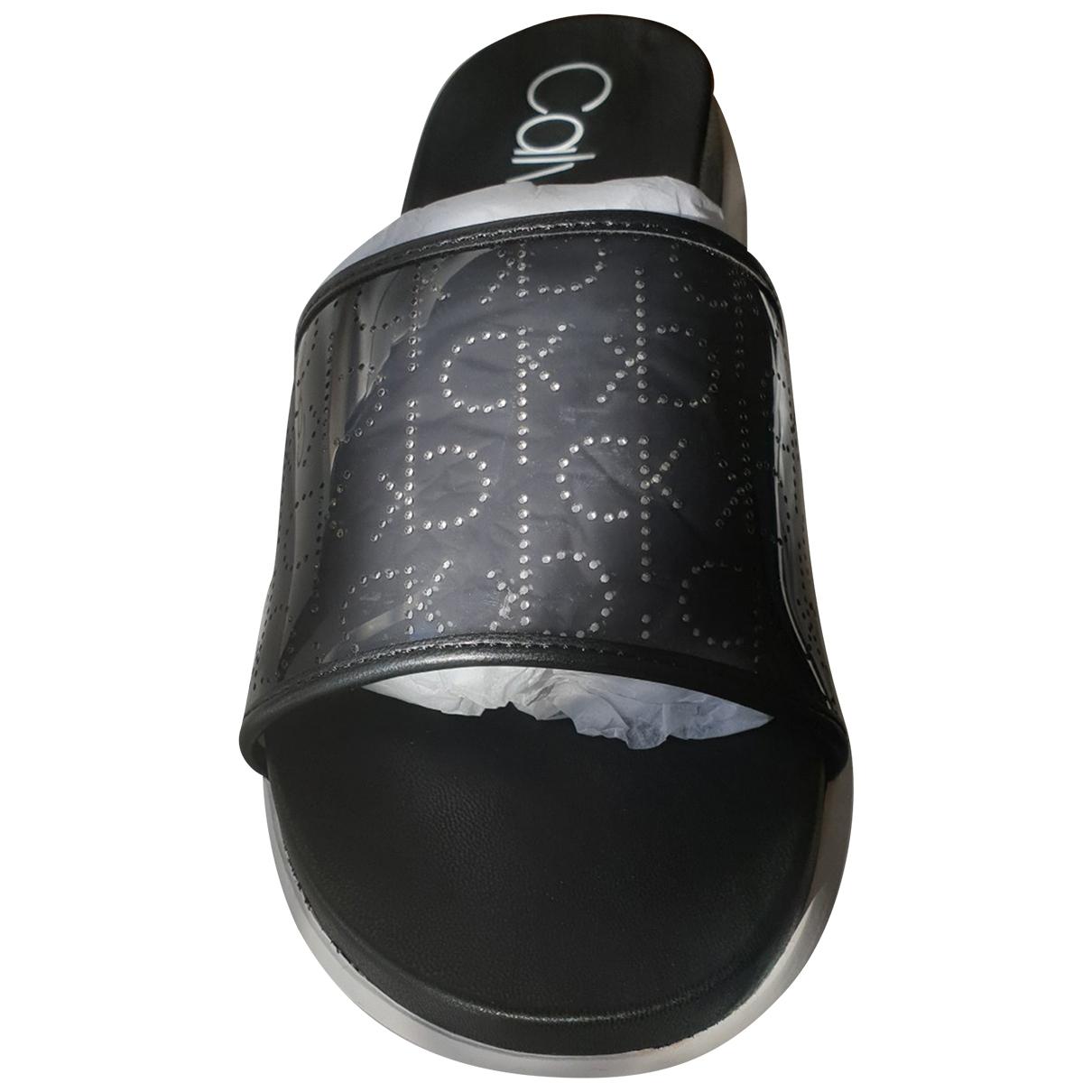Calvin Klein \N Black Sandals for Women 38 EU