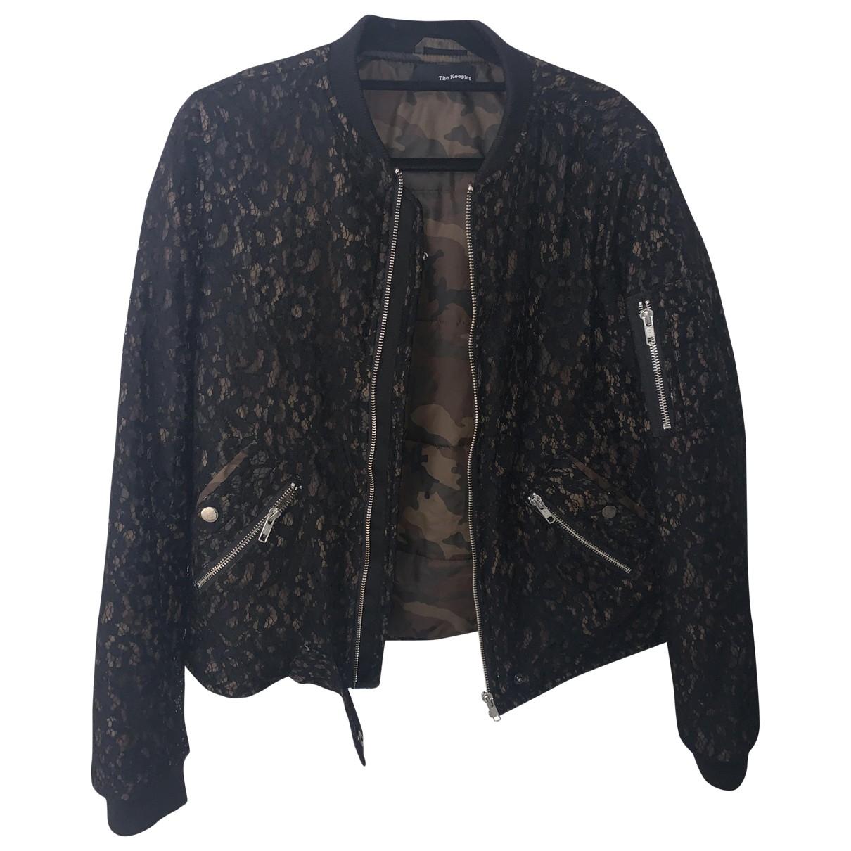 The Kooples \N Black coat for Women M International