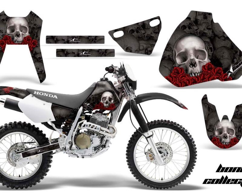 AMR Racing Dirt Bike Graphics Kit Decal Sticker Wrap For Honda XR400R 1996-2004áBONES BLACK