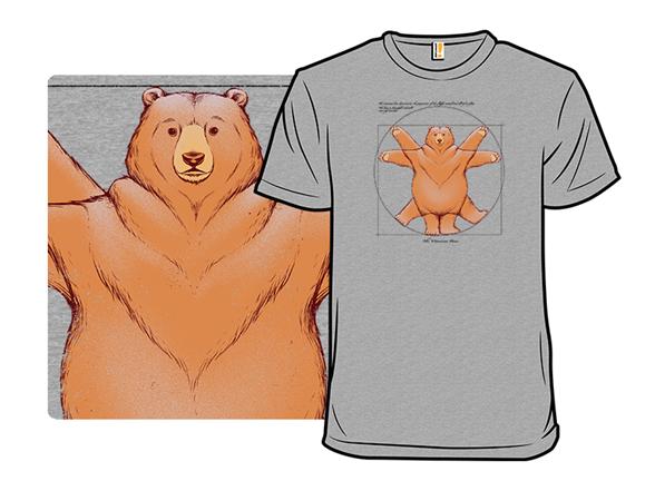 Vitruvian Bear T Shirt