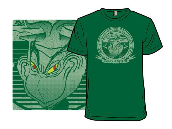 Grinch University T Shirt